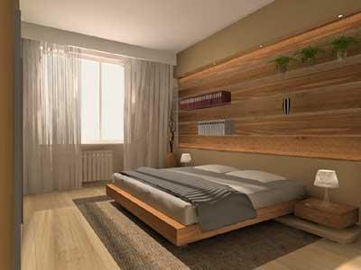 Куда поставить кровать